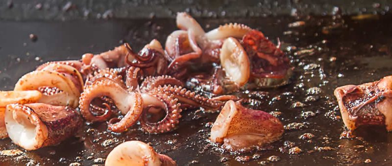 WHAT IS IN SEASON – MAY  :   OCTOPUS !