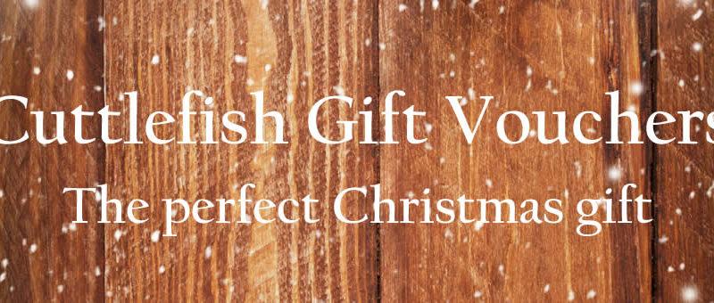 Cuttlefish Gift Vouchers